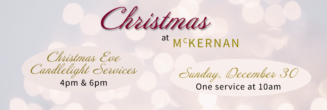 Christmas at McKernan