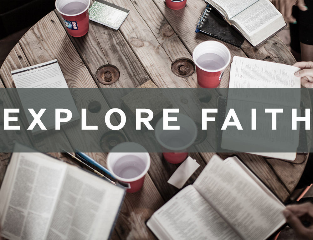 Buttons - explore faith